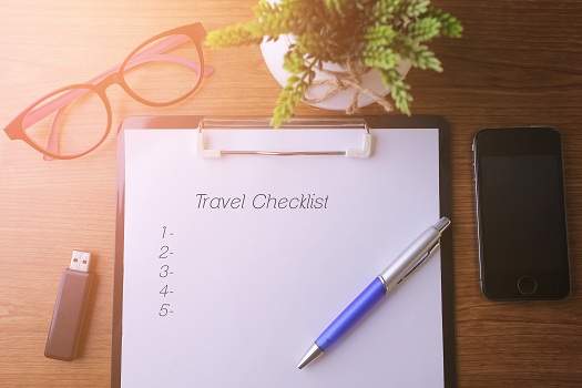 Things to Add to Your Pre Travel Checklist in San Diego, Ca